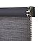 Store enrouleur occultant Colours Ilas polyester gris 40 x 180 cm