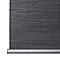 Store enrouleur occultant Colours Ilas polyester gris 45 x 180 cm
