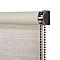 Store enrouleur occultant COLOURS Ilas polyester crème 60 x 240 cm