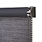 Store enrouleur occultant Colours Ilas polyester gris 120 x 240 cm