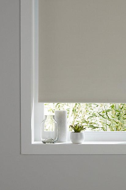 Store Enrouleur Thermique Occultant Colours Pama Blanc 55 X 195 Cm Castorama