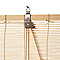 Store enrouleur bambou naturel 160 x 180 cm