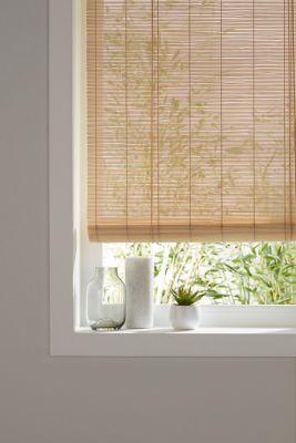 Store enrouleur bambou naturel 180 x 180 cm