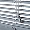 Store vénitien PVC gris 160 x 180 cm