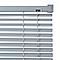 Store vénitien PVC gris 180 x 180 cm