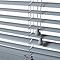 Store vénitien PVC gris 40 x 180 cm