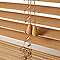 Store vénitien bois COLOURS Cana chêne clair 90 x 180 cm