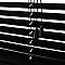 Store vénitien Colours Studio alu noir 55 x 180 cm