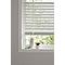 Store vénitien imitation bois COLOURS Lone blanc 60 x 180 cm