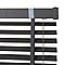 Store vénitien imitation bois Colours Lone gris 90 x 180 cm
