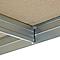 Etagère métal Exa L 5 tablettes L. 120 x H. 180 x P. 45 cm