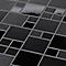 Mosaïque noir 30 x 30 cm Tourino