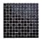 Mosaïque noir 30 x 30 cm Flourencia