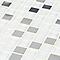 Mosaïque gris et blanc 32 x 32 cm Prate