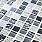 Mosaïque gris et blanc 30 x 30 cm Calabria
