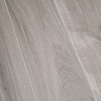 Sol stratifié à clipser Gladstone Chêne Gris 8 mm - L.129 x l.19.4 cm