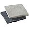 Pavé pierre naturelle vieillie noire 20 x 20 cm, ép.2 cm
