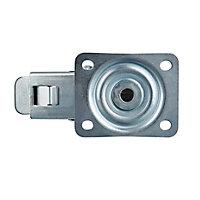 Roulette pivotante à platine pivotante ø125 mm