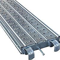 Plancher acier galvanisé pour échafaudages et tréteaux