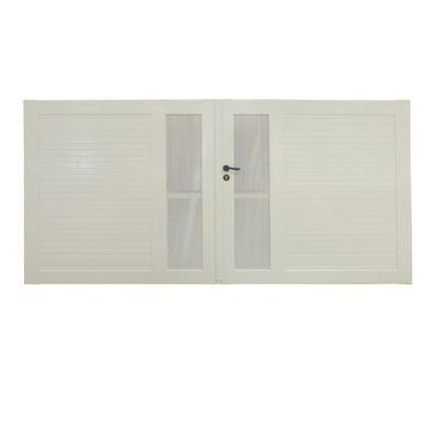 Portail Pvc Ciotat Blanc 300 X H 150 Cm Castorama