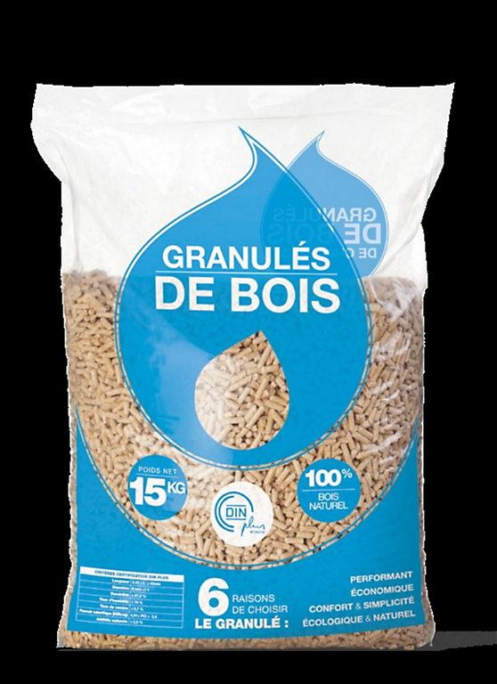 Granules De Bois Eco 15 Kg Castorama