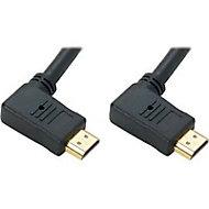 Cordon HDMI Coude Or mâle/mâle Erard 3 m