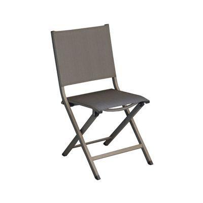 Chaise de jardin thema ice pliante castorama for Chaise pliante castorama