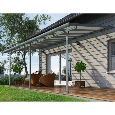 toit couv 39 terrasse 3 x 6 m gris castorama. Black Bedroom Furniture Sets. Home Design Ideas