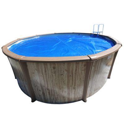 b che bulles jm baches pour piscine 6 10 x 3 75m castorama. Black Bedroom Furniture Sets. Home Design Ideas