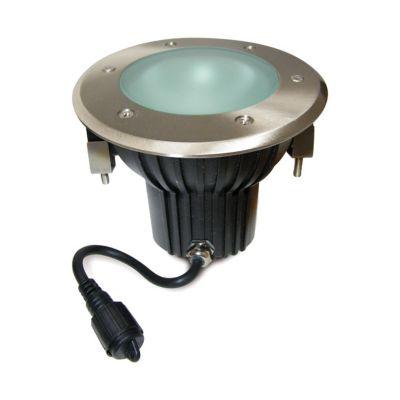 Spot extérieur encastrable plancher Easy Connect LED ø16 cm