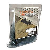 Sachet de 90 clips inox Terranova noir