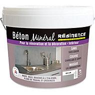 Béton minéral Résinence gris clair 6kg
