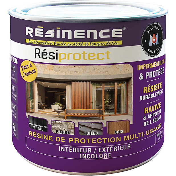 Resine De Protection Resiprotect Transparente Resinence 0 5l Castorama