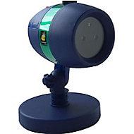 Projecteur extérieur à piquer BEST OF TV Starshower noir h.22 cm