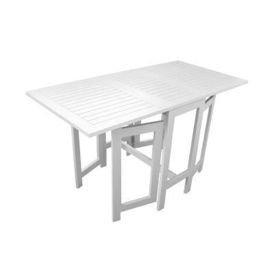 Table Console De Jardin Burano Blanc Pliante 130 X 65 Cm Castorama