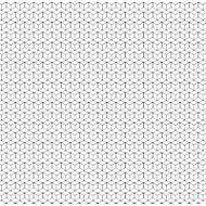 Rideau de douche tissu noir 180 x 200 cm Mozaïk