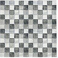 Mosaïque grise 4,8 x 4,8 cm Shadow Mix