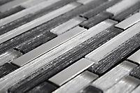 Mosaïque Shadow Briquette 30,5 x 30,5 cm