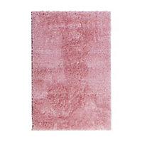 Tapis Cocoon rose 100 x 150 cm