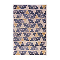 Tapis Vision petits triangles 100 x 150 cm