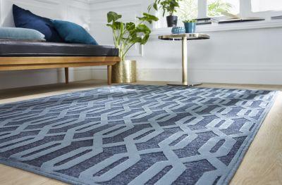 Tapis Vision Bleu X Cm Castorama - Faience cuisine et tapis 150 x 200