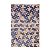Tapis Vision petits triangles 150 x 200 cm