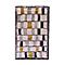 Tapis Modern damier 100 x 150 cm