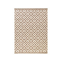 Tapis Flox taupe beige 60 x 90 cm