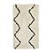 Tapis Tribal lignes grises 100 x 150 cm
