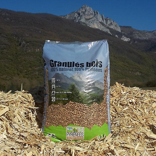 Granules A Bois 15kg Castorama