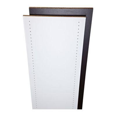 tablette pr perc d cor blanc 250 x 50 x 1 8 cm castorama. Black Bedroom Furniture Sets. Home Design Ideas