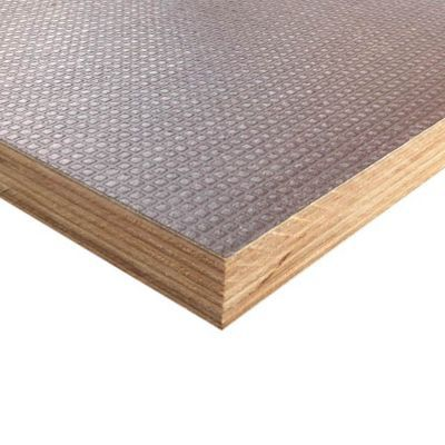 Contre plaqu film 2 faces 244 x 122 cm mm castorama for Plaque de bois exterieur
