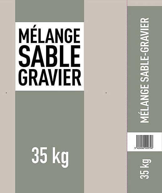 Melange Pour Beton 35kg Castorama