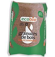 Granulés de bois 15kg Ecobio